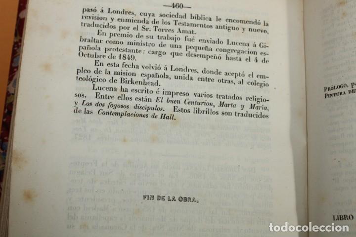 Libros antiguos: 1851 / HISTORIA DE LOS PROTESTANTES ESPAÑOLES Y DE PERSECUCION POR FELIPE II / ADOLFO DE CASTRO - Foto 11 - 222747607