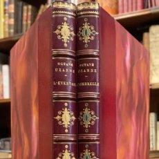 Libros antiguos: L' EVENTAIL. L' OMBRELLE, LE GANT, LE MANCHON. OCTAVE UZANNE. Lote 222769453