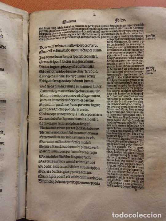 Libros antiguos: OVIDIO. METAMORPHOSEOS. LUGDUNI, 1504. VER FOTOS - Foto 3 - 222795782