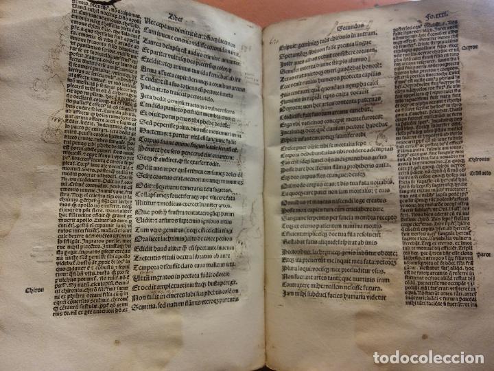 Libros antiguos: OVIDIO. METAMORPHOSEOS. LUGDUNI, 1504. VER FOTOS - Foto 4 - 222795782