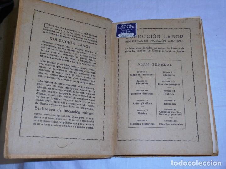 Libros antiguos: HISTORIA DEL ARTE PRECOLOMBIANO.MIGUEL SOLA.COLECCION LABOR 1936 - Foto 2 - 222812046
