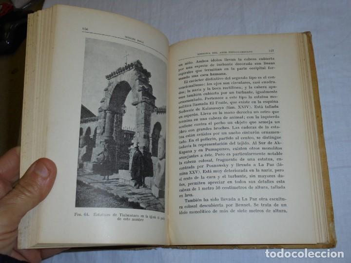 Libros antiguos: HISTORIA DEL ARTE PRECOLOMBIANO.MIGUEL SOLA.COLECCION LABOR 1936 - Foto 5 - 222812046