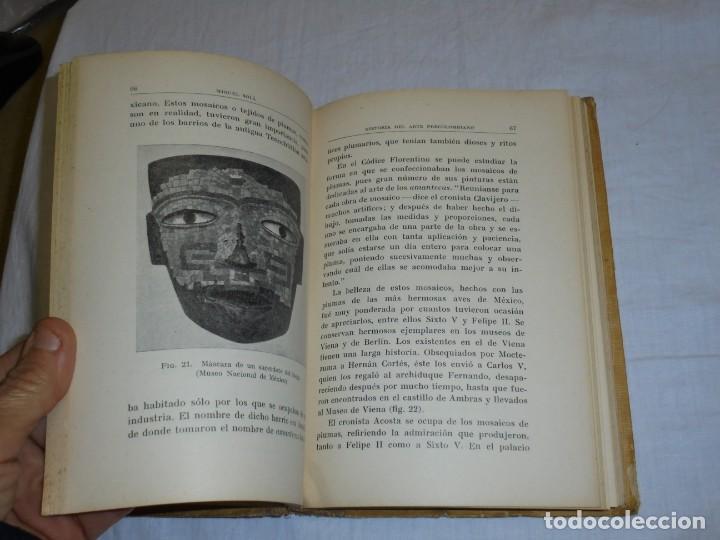 Libros antiguos: HISTORIA DEL ARTE PRECOLOMBIANO.MIGUEL SOLA.COLECCION LABOR 1936 - Foto 7 - 222812046