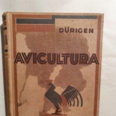 Libros antiguos: TRATADO DE AVICULTURA. TOMO II. BRUNO DURIGEN. GUSTABO GILI 1932.. Lote 222839683