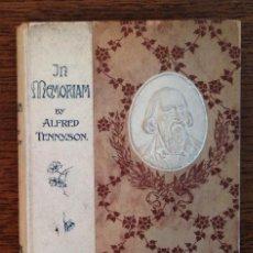 """Libros antiguos: LIBRO 1902 """"IN MEMORIAM"""" ALFRED TENNYSON. ILUSTRACIONES JHON EYRE. R.B.A. LIBRO EN BUEN ESTADO.. Lote 222857681"""