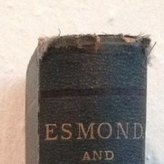 "Libros antiguos: LIBRO 1884 ""THE WORKS OF WILLIAM MAKEPACE THACKERAY. 1884 VOLUME IV.. Lote 222859806"