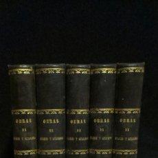 Livros antigos: OBRAS DE D. ANTONIO APARISI Y GUIJARRO - 5 TOMOS (COMPLETA) - MADRID -1873. Lote 222902531