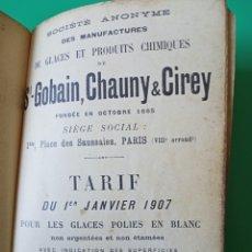 Libros antiguos: LIBRO TÉCNICO ,1907. Lote 222907221