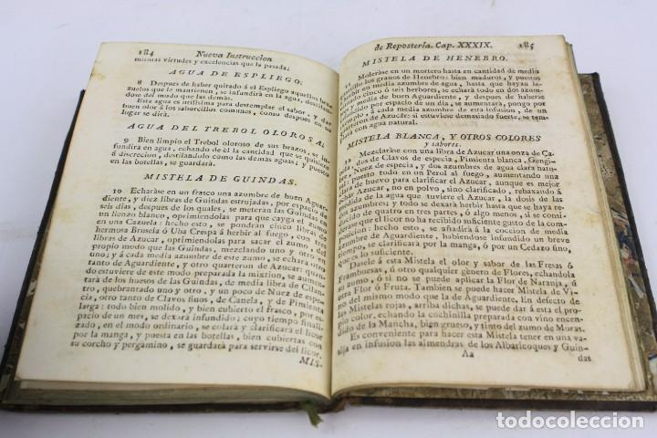 Libros antiguos: El arte de la repostería, Juan de la Mata, 1786, Imprenta de Josef Herrera, Madrid. 20,5x14,5cm - Foto 6 - 223085961