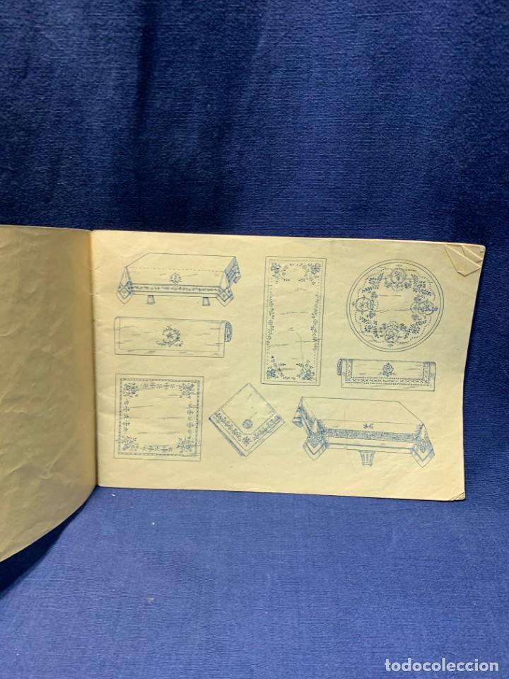 Libros antiguos: la canastilla de labores dibujos y adornos para manteleria hogar y moda n 15 17x24cms - Foto 3 - 223158606
