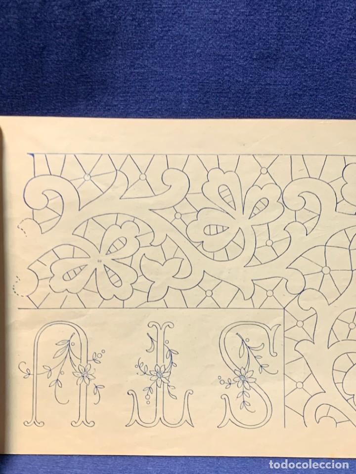 Libros antiguos: la canastilla de labores dibujos y adornos para manteleria hogar y moda n 15 17x24cms - Foto 5 - 223158606
