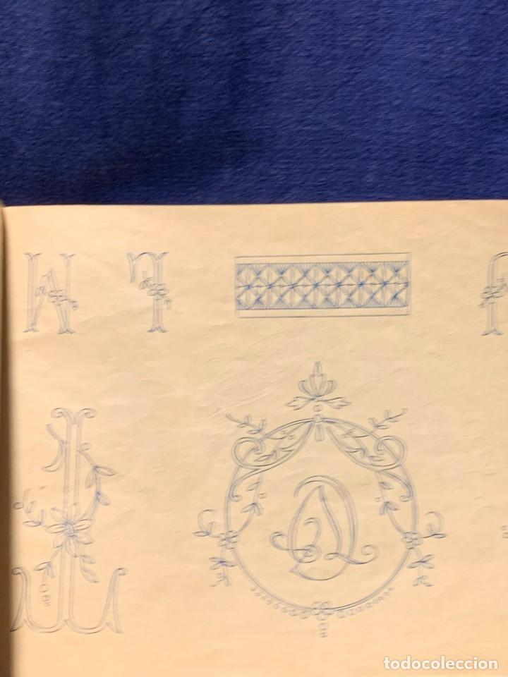 Libros antiguos: la canastilla de labores dibujos y adornos para manteleria hogar y moda n 15 17x24cms - Foto 6 - 223158606