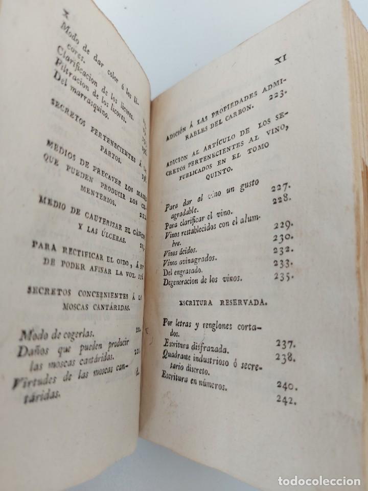 Libros antiguos: Nº 7 - DE LOS SECRETOS DE ARTES Y OFICIOS - AÑO 1807 - IMPRENTA DE REPULLES - ENFERMEDADES DE CABALL - Foto 3 - 223203715