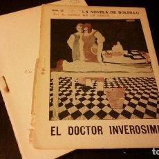 Libros antiguos: 1914 - RAMÓN GÓMEZ DE LA SERNA - EL DOCTOR INVEROSÍMIL. DIBUJOS DE BARTOLOZZI - 1ª ED.. Lote 223230062