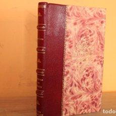 Libros antiguos: 1860 / MASQUES ET VISAGES / GAVARNI. Lote 223360086