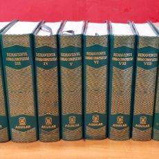 Libros antiguos: JACINTO BENAVENTE, OBRAS COMPLETAS. 11 VOLÚMENES. AGUILAR, 1969.. Lote 223394465