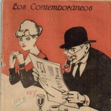 """Libros antiguos: 1919 LOS CONTEMPORANEOS """"EL ARTE DE FUMAR EN PIPA"""" NOVELA POR EMILIO CARRERE NÚMERO EXTRAORDINARIO. Lote 223402901"""