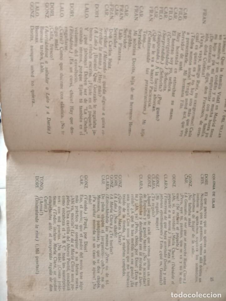 Libros antiguos: LIBROS ANTIGUOS ALMAS GEMELAS EN PAPEL JAPON SOLO 12 EJEMPLARES. Y REVISTA TEATRO SEMANAL. - Foto 3 - 223470776
