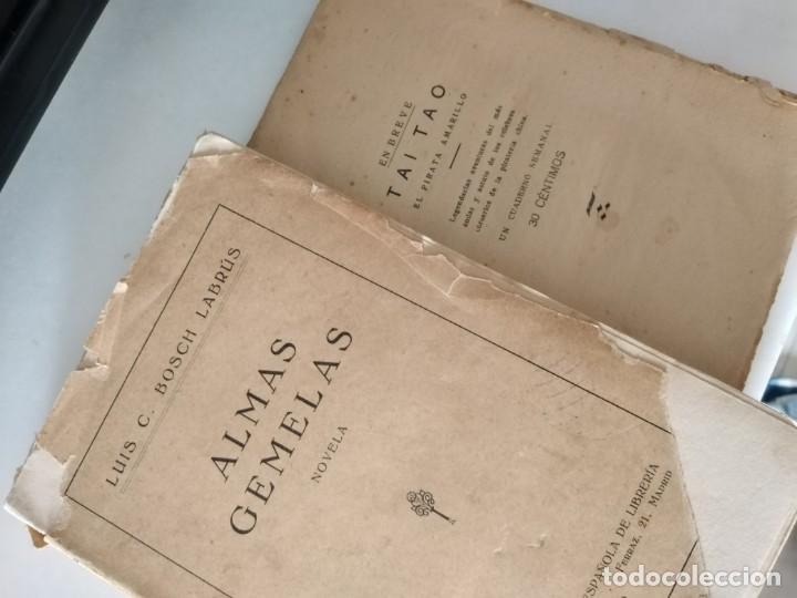 Libros antiguos: LIBROS ANTIGUOS ALMAS GEMELAS EN PAPEL JAPON SOLO 12 EJEMPLARES. Y REVISTA TEATRO SEMANAL. - Foto 5 - 223470776