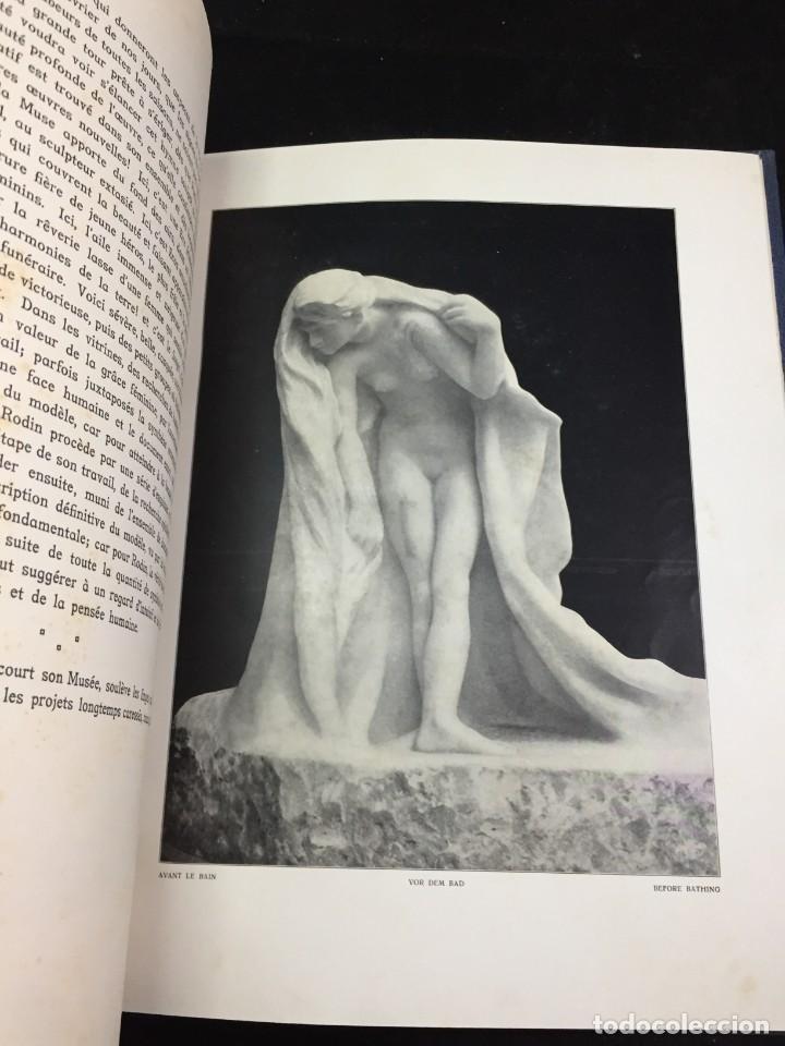 Libros antiguos: AUGUSTE RODIN PAR GUSTAVE KAHN. ILUSTRACIONES AÑO 1910. LART ET LE BEAU, EN FRANCÉS - Foto 3 - 223564281
