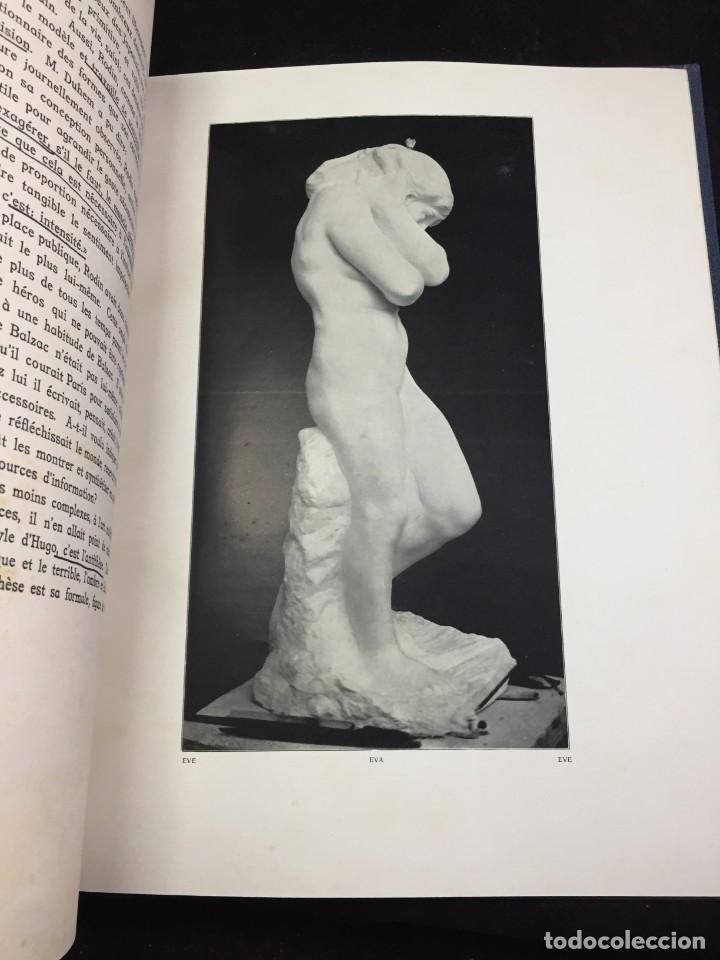 Libros antiguos: AUGUSTE RODIN PAR GUSTAVE KAHN. ILUSTRACIONES AÑO 1910. LART ET LE BEAU, EN FRANCÉS - Foto 4 - 223564281