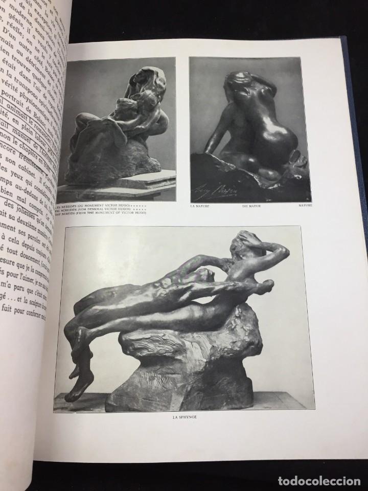 Libros antiguos: AUGUSTE RODIN PAR GUSTAVE KAHN. ILUSTRACIONES AÑO 1910. LART ET LE BEAU, EN FRANCÉS - Foto 5 - 223564281