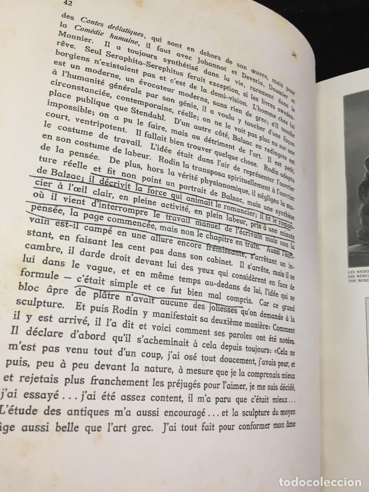 Libros antiguos: AUGUSTE RODIN PAR GUSTAVE KAHN. ILUSTRACIONES AÑO 1910. LART ET LE BEAU, EN FRANCÉS - Foto 6 - 223564281