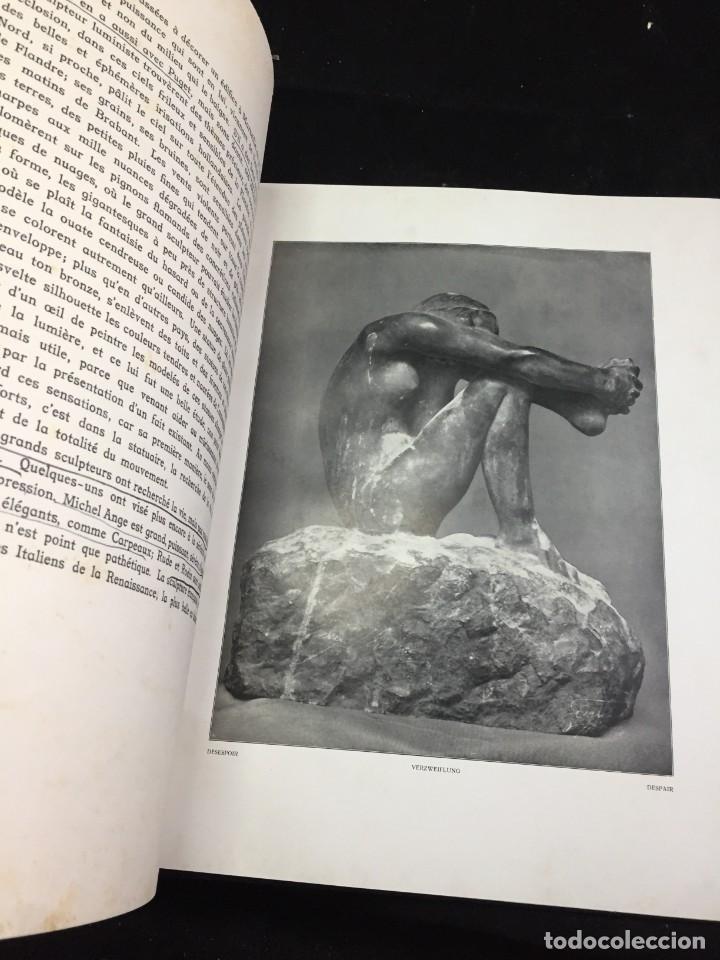 Libros antiguos: AUGUSTE RODIN PAR GUSTAVE KAHN. ILUSTRACIONES AÑO 1910. LART ET LE BEAU, EN FRANCÉS - Foto 10 - 223564281