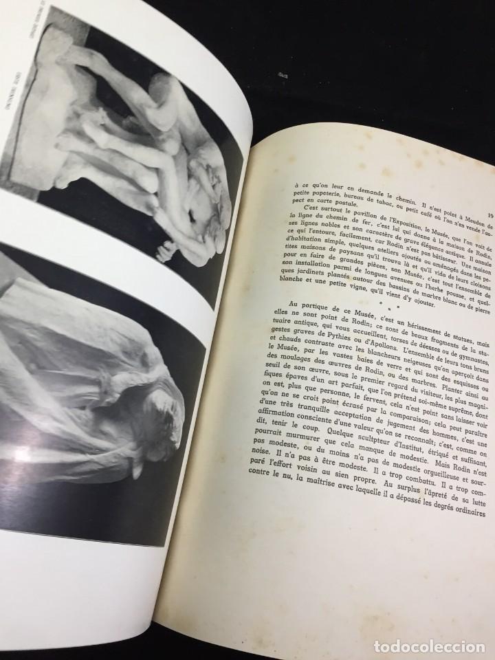 Libros antiguos: AUGUSTE RODIN PAR GUSTAVE KAHN. ILUSTRACIONES AÑO 1910. LART ET LE BEAU, EN FRANCÉS - Foto 12 - 223564281