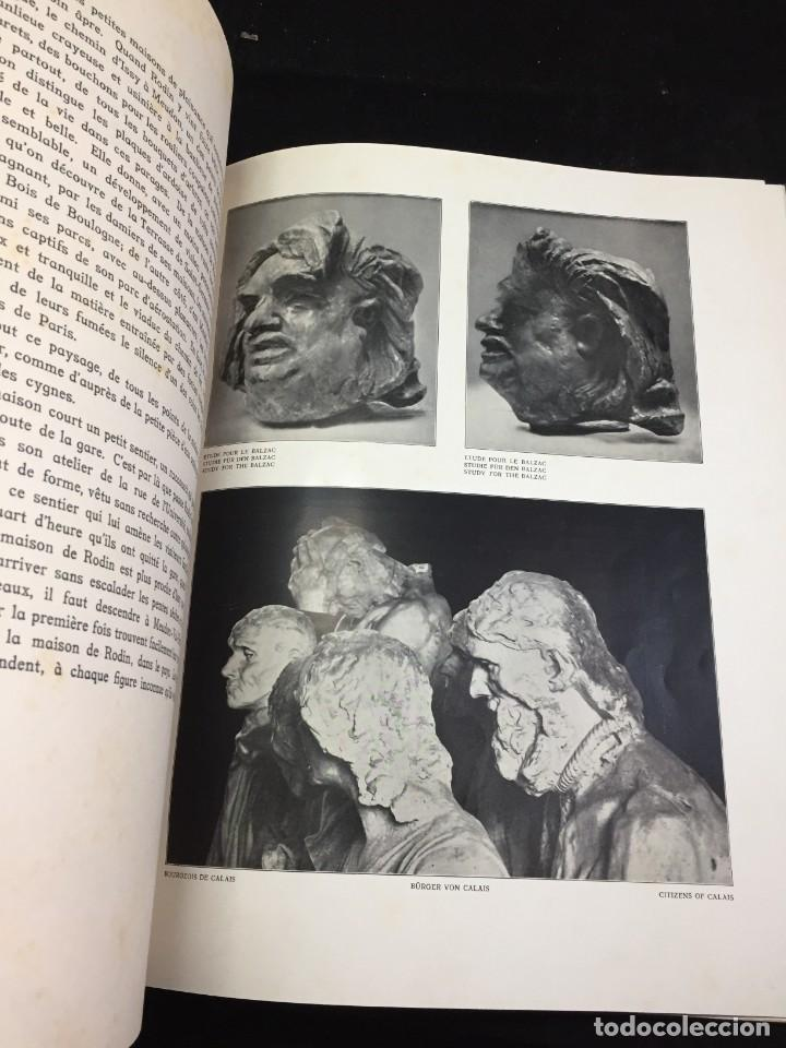 Libros antiguos: AUGUSTE RODIN PAR GUSTAVE KAHN. ILUSTRACIONES AÑO 1910. LART ET LE BEAU, EN FRANCÉS - Foto 13 - 223564281