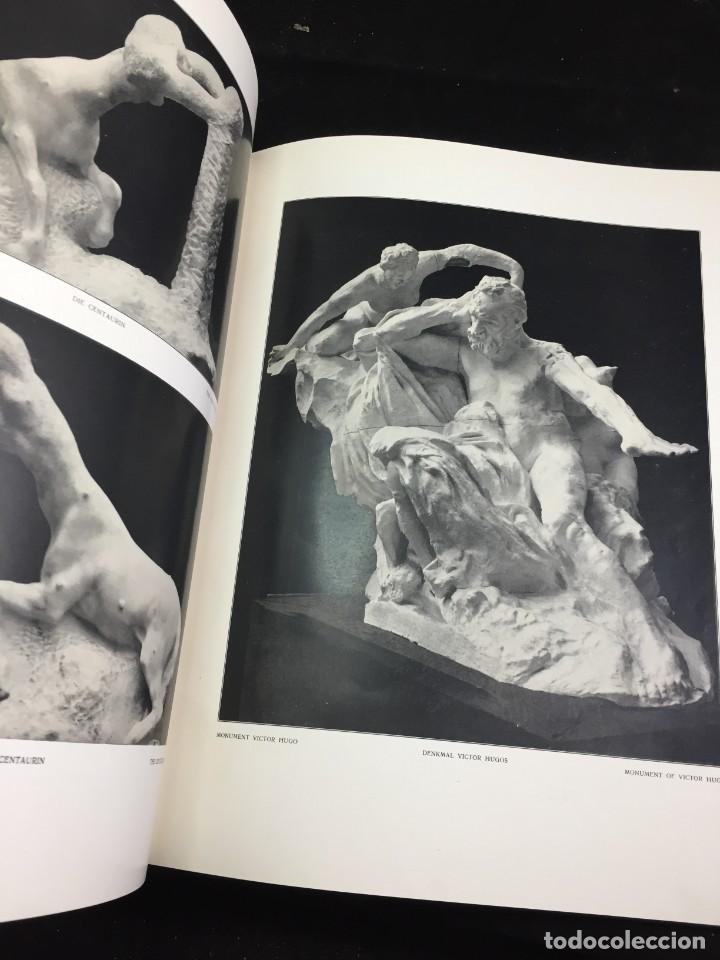 Libros antiguos: AUGUSTE RODIN PAR GUSTAVE KAHN. ILUSTRACIONES AÑO 1910. LART ET LE BEAU, EN FRANCÉS - Foto 14 - 223564281