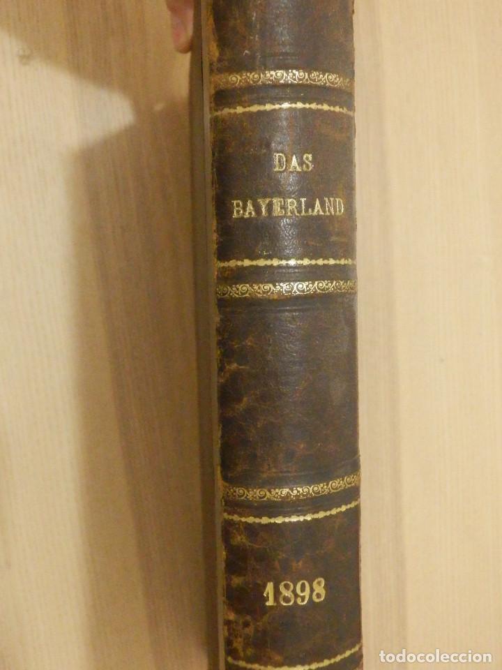 DAS BAYERLAND - EN ALEMÁN - DEL Nº 1 AL 51 - 620 PÁGINAS - AÑO 1898 - ENCUADERNADOS (Libros Antiguos, Raros y Curiosos - Otros Idiomas)