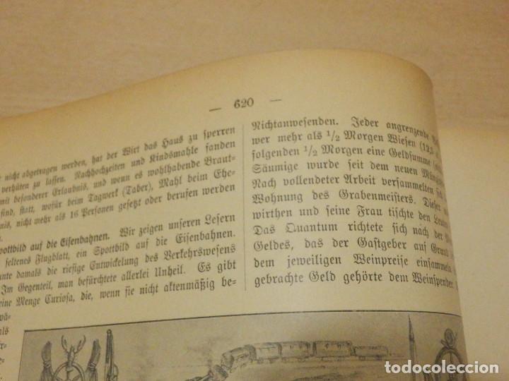 Libros antiguos: Das Bayerland - En Alemán - del Nº 1 al 51 - 620 páginas - Año 1898 - Encuadernados - Foto 9 - 223621702