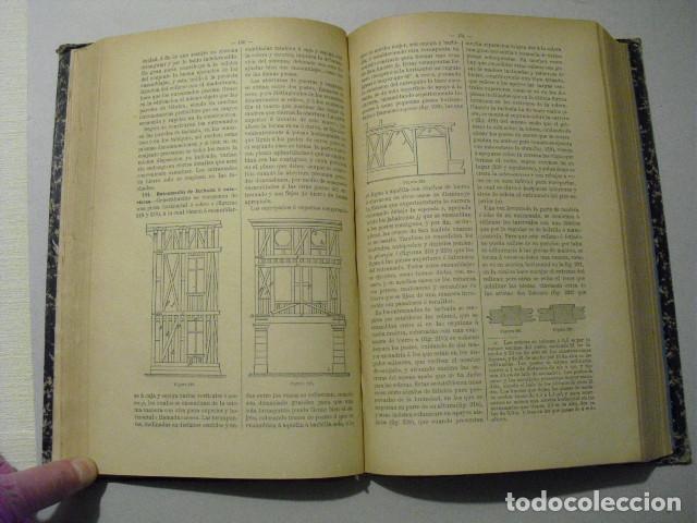 Libros antiguos: 1889 TRATADO DE CONSTRUCCION GENERAL JOSÉ A. REBOLLEDO - Foto 5 - 223670191