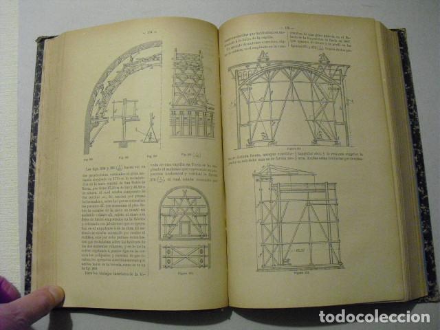 Libros antiguos: 1889 TRATADO DE CONSTRUCCION GENERAL JOSÉ A. REBOLLEDO - Foto 6 - 223670191
