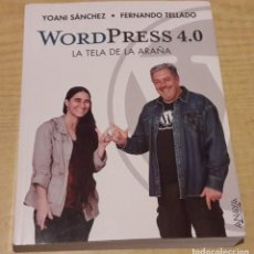 Libros antiguos: WORDPRESS 4.0. LA TELA DE LA ARAÑA.. Lote 223860705