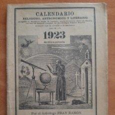 Livres anciens: 1923 CALENDARIO DEL ERMITAÑO DE LOS PIRINEOS. Lote 224014918