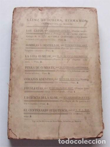 Libros antiguos: La cueva de los búhos. Luis López-Ballesteros. Madrid, 1907 - Foto 2 - 224047228