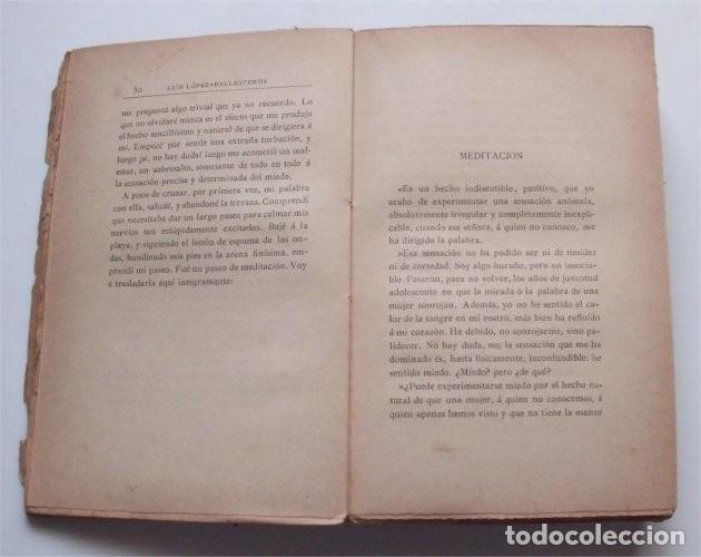 Libros antiguos: La cueva de los búhos. Luis López-Ballesteros. Madrid, 1907 - Foto 3 - 224047228