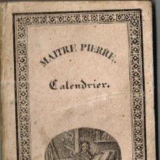 Libros antiguos: 1833 MAITRE PIERRE LE SAVANT DE VILLAGE LIBRO CON 3 LITOGRAFÍAS PLANETARIAS J. BOECKEL - A.L. BUCHON. Lote 224048686