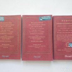 Libros antiguos: 3 LIBROS FACSÍMILES DE CLAUDE BOURGELAT RELATIVOS A LOS CABALLOS Y LA VETERINARIA. ALBEITERÍA HÍPICA. Lote 222869702