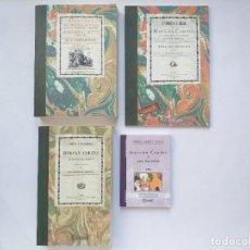 Libros antiguos: 4 LIBROS FACSÍMILES RELATIVOS A HERNÁN CORTÉS Y LA CONQUISTA DE MÉXICO. HISTORIA DE AMÉRICA CARLOS V. Lote 222937957