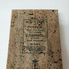 Libros antiguos: NUEVO ARTE DE COCINA JUAN ALTAMIRAS FACSIMIL DE 500 EJEMPLARES NUMERADOS. Lote 224089835