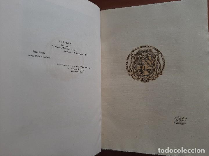 Libros antiguos: 1925 LLIBRE ROSARI D ´OR A CATALUNYA - SERRA I BOLDU , VALERI / EDICIÓN DE BIBLIÓFILO - Foto 6 - 224273516