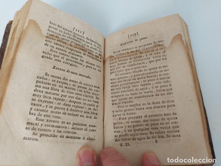 Libros antiguos: TOMO Nº 11 - SECRETOS RAROS DE ARTES Y OFICIOS - AÑO 1807 - LOZA, TURRÓN, MAZAPAN, BIZCOCHOS, CONSER - Foto 8 - 224322635
