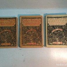 Libros antiguos: LOTE VALLE INCLÁN (3 LIBROS). Lote 224395022