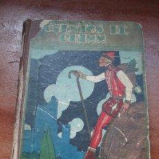 Libros antiguos: CUENTOS DE GRIMM. ED. SATURNINO CALLEJA. Lote 224473557