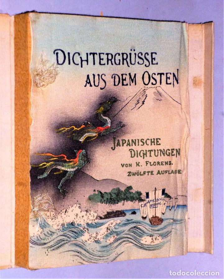 Libros antiguos: DICHTERGRÜßE AUS DEM OSTEN JAPANISCHE DICHTUNGEN - Foto 2 - 224558706