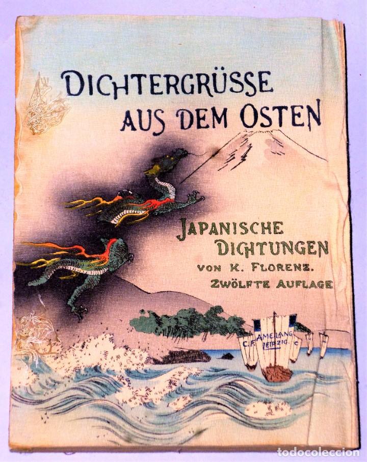 Libros antiguos: DICHTERGRÜßE AUS DEM OSTEN JAPANISCHE DICHTUNGEN - Foto 3 - 224558706