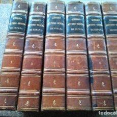 Libros antiguos: HISTORIA GENERAL DE ESPAÑA Y DE SUS INDIAS -- VICTOR GEBHARDT -- 1864 -- 6 TOMOS FALTA EL TOMO 2 --. Lote 224607276